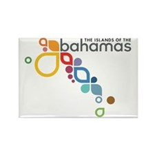 Bahamas Logo Rectangle Magnet