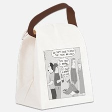 Party Grouse - no text Canvas Lunch Bag