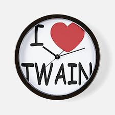 TWAIN Wall Clock