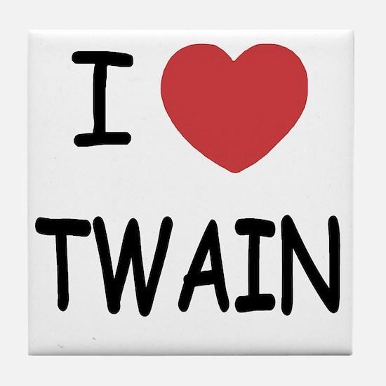 TWAIN Tile Coaster