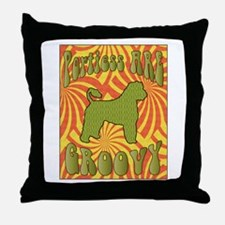 Groovy Portie Throw Pillow
