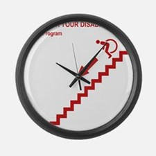 stairs Large Wall Clock