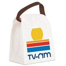 tvam logo Canvas Lunch Bag
