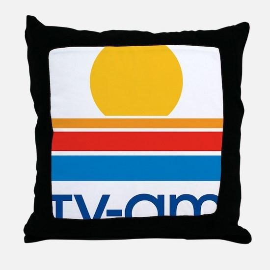 tvam logo Throw Pillow