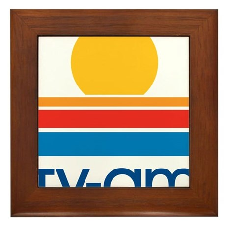 tvam logo Framed Tile