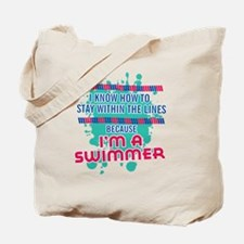 im a swimmer-01 Tote Bag