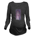 MacRatLove in Repose Long Sleeve Maternity T-Shirt