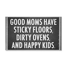 Good Mom Car Magnet 20 x 12