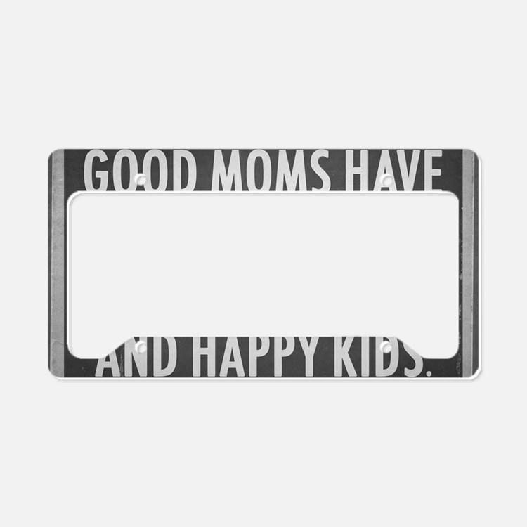 Good Mom License Plate Holder