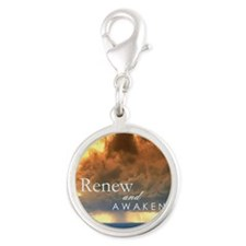 CD101_Out Rifescapes - Renew a Silver Round Charm