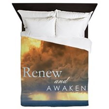 CD101_Out Rifescapes - Renew and Awake Queen Duvet