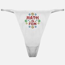 math Classic Thong