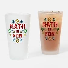 math Drinking Glass