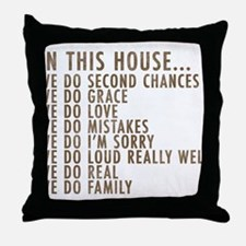 In This House Throw Pillow