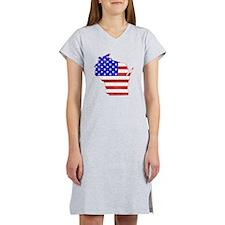 Wisconsin Flag Women's Nightshirt