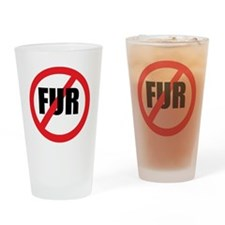 V-fur Drinking Glass
