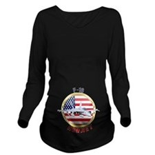 F-18 Hornet Long Sleeve Maternity T-Shirt