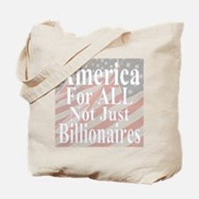 America for ALL  20-w Flags Tote Bag