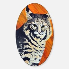 bobcat3 Sticker (Oval)