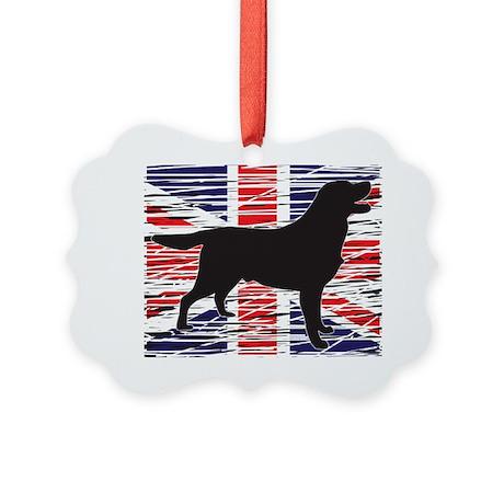 British Flag Picture Ornament