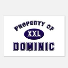 Property of dominic Postcards (Package of 8)