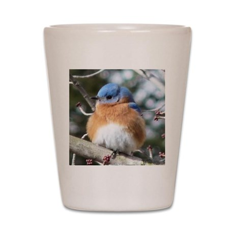 BlueBird0.885x1.15SF Shot Glass