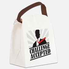 challengeaccepted Canvas Lunch Bag