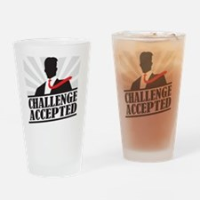challengeaccepted Drinking Glass
