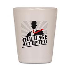 challengeaccepted Shot Glass