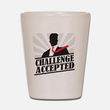 challengeaccepted Shot Glass