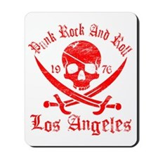 los angeles red Mousepad
