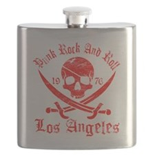 los angeles red Flask