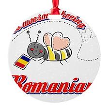 romanian Round Ornament