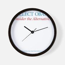 O44+4: Re-Elect Obama (back) Wall Clock