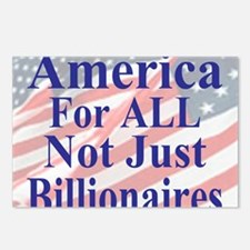 America for ALL 35  dk-bl Postcards (Package of 8)