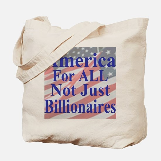 America for ALL 35  dk-bl  Flags Cafe-mou Tote Bag