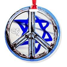 peace_heart_jewish_star Ornament