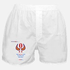 GATOR ATE WHT Boxer Shorts