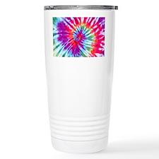 Pink Spiral NC Travel Mug