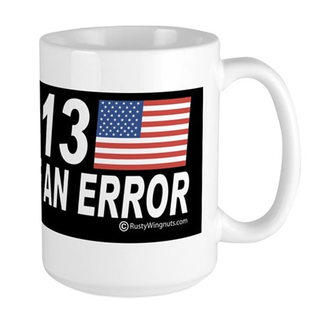 End of an Error bmp stk Large Mug