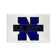 US Navy Rectangle Magnet