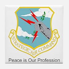 B-52-SAC_Emblem Tile Coaster
