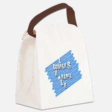 A Double S Canvas Lunch Bag