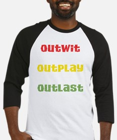 outwit-outplay-outlast Baseball Jersey