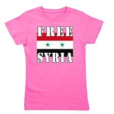 Free SyriA Girl's Tee