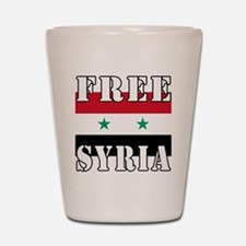Free SyriA Shot Glass