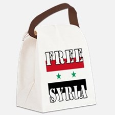 Free SyriA Canvas Lunch Bag