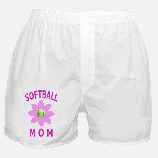 Softball Mom T-Shirts and Gift Produc Boxer Shorts