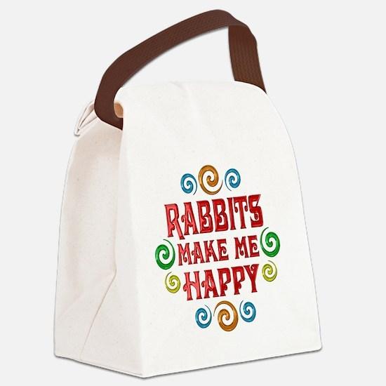 rabbit Canvas Lunch Bag