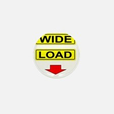 Wide-Load-T-Shirt-Light_vectorized Mini Button